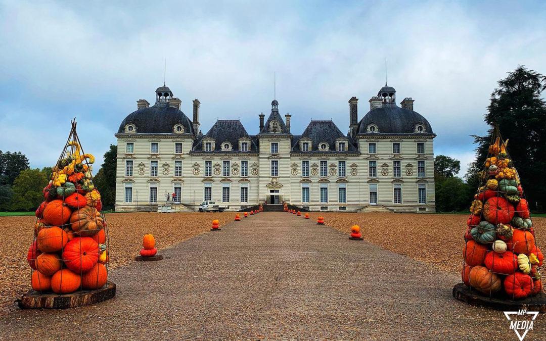 Reportage photos et vidéo – L'automne au Château de Cheverny