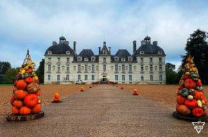 Reportage photos et vidéo - L'automne au Château de Cheverny