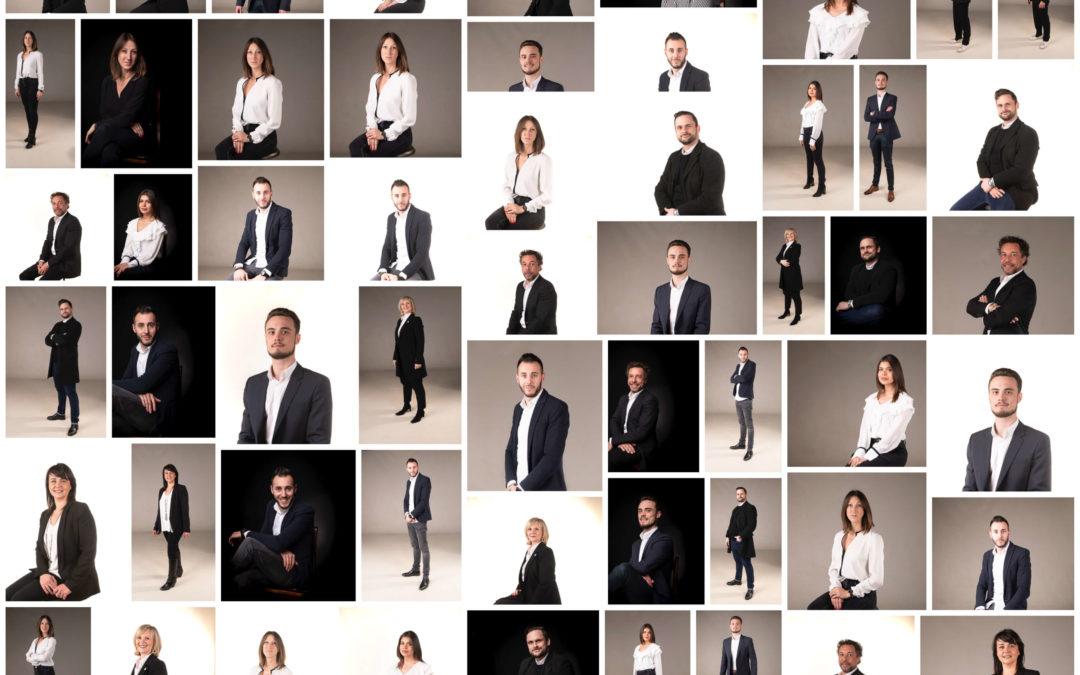 Photographe professionnel: Portraits d'équipe d'entreprise dans le Val de Marne