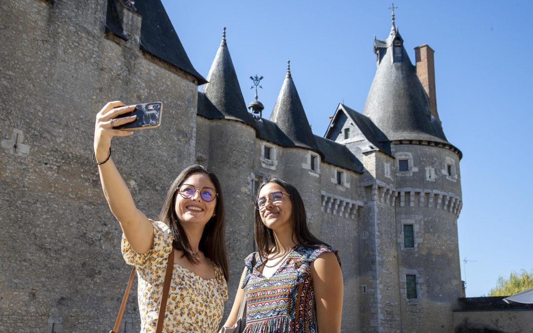 Reportages Photos : Autour du Château de Fougères sur-Bièvre dans le Loir-et-Cher
