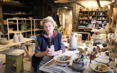 Un tournage interview en Drôme : La poterie de Cliousclat