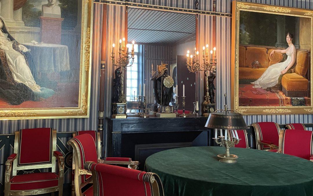 Vidéo live pour la commémoration du bicentenaire de la mort de Napoléon au Château de Malmaison