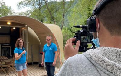 Vidéastes professionnels : Interview au Camping des Chapelains à Saillans en Drôme