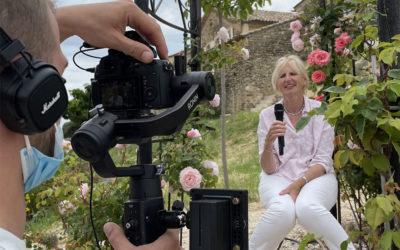 Vidéastes professionnels : Interview à la Bergerie à Vinsobres dans la Drôme