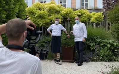Interview du Chef pâtissier du restaurant Le Clair de la Plume en Drôme