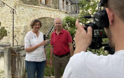 Reportage vidéo et photos dans les Bergerons en Drôme